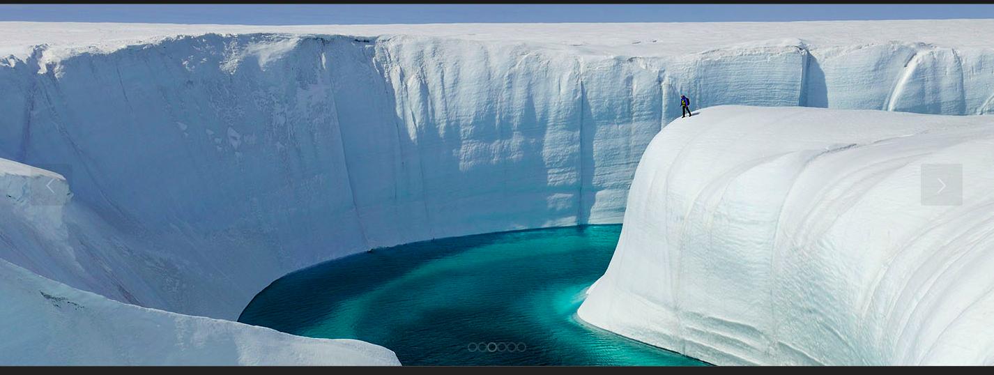 Greenland river on ice, courtesy James Balog (https://chasingice.com/)